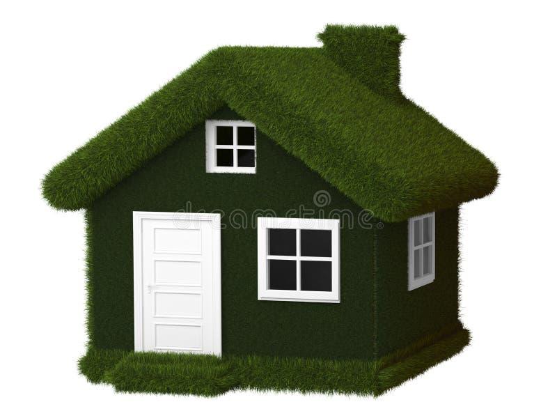 Download Casa verde de Eco ilustração stock. Ilustração de ambiente - 29846379