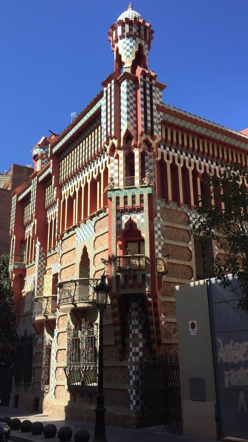 Casa Vicens imagenes de archivo