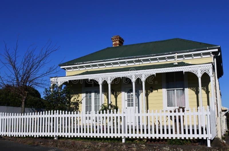 Casa victoriana Nueva Zelanda imagen de archivo