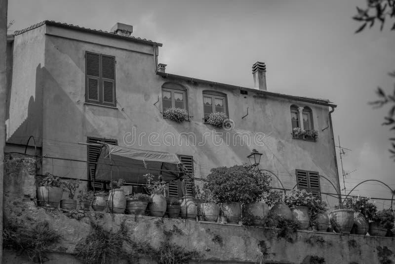 Download Casa vieja blanco y negro imagen de archivo. Imagen de negro - 100531929