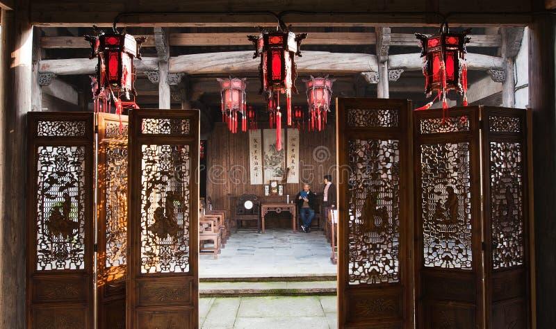 Casa vieja de China imagen de archivo libre de regalías