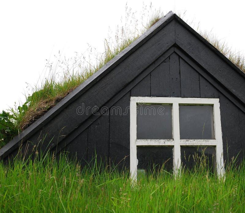 Casa vieja de Islandia imágenes de archivo libres de regalías