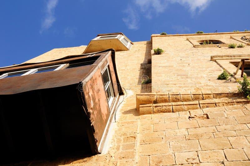 Casa vieja de Jaffa fotografía de archivo