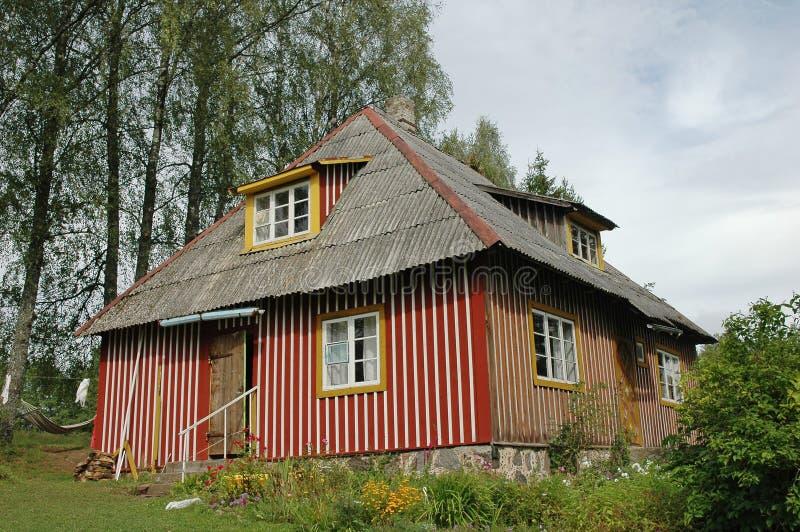 Casa vieja de la renovación fotos de archivo