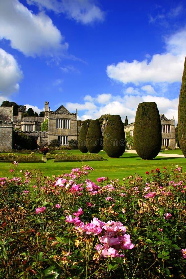 Casa vieja del país de Lanhydrock, Bodmin, Reino Unido imagenes de archivo