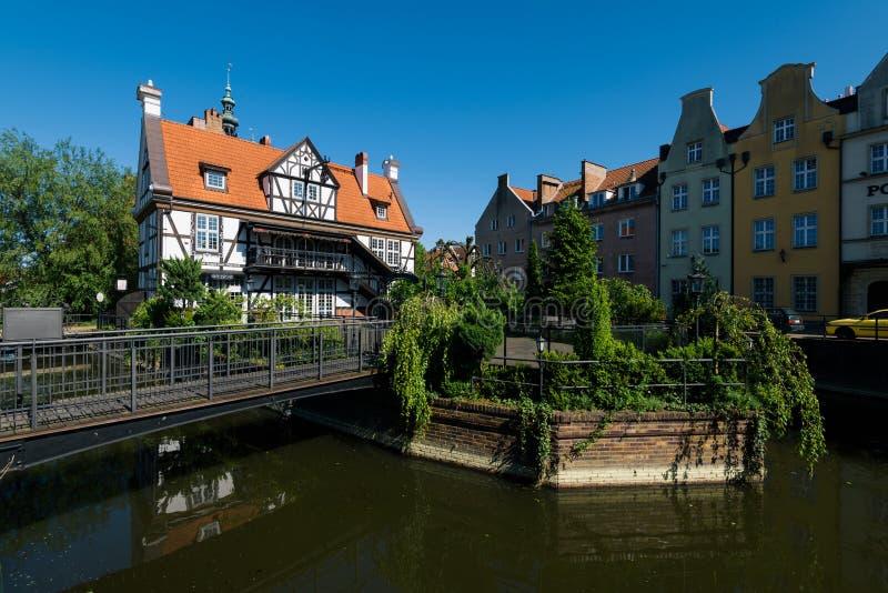 Casa vieja del ` s de Miller, Gdansk, Polonia fotos de archivo