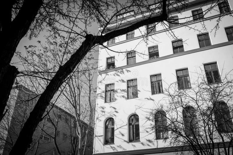 Casa vieja en Berlin Kreuzberg imagen de archivo libre de regalías