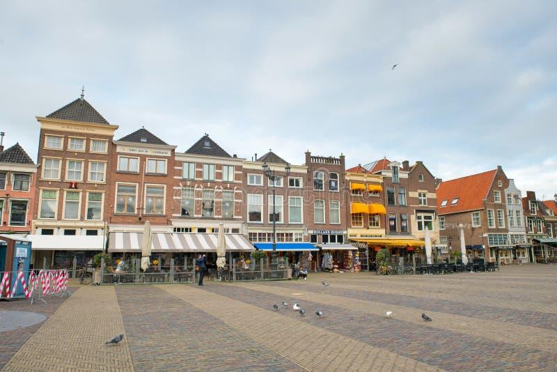 Casa vieja en cerámica de Delft fotos de archivo libres de regalías