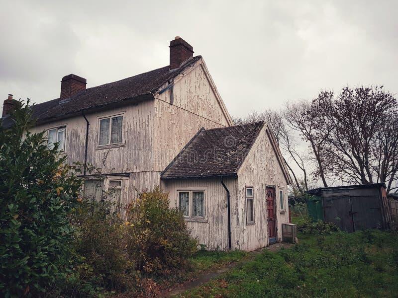 Casa vieja en Cheltenham, Reino Unido foto de archivo