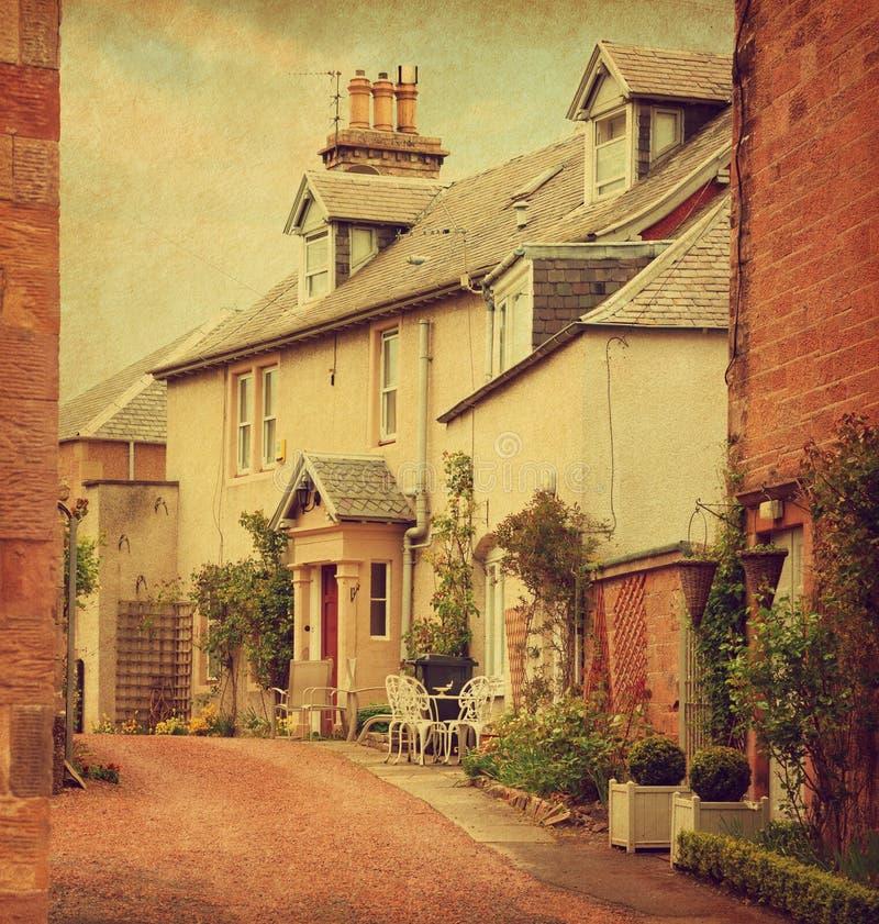 Casa vieja en colada fotografía de archivo libre de regalías