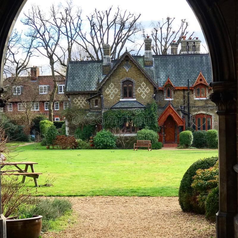 Casa vieja en Inglaterra foto de archivo
