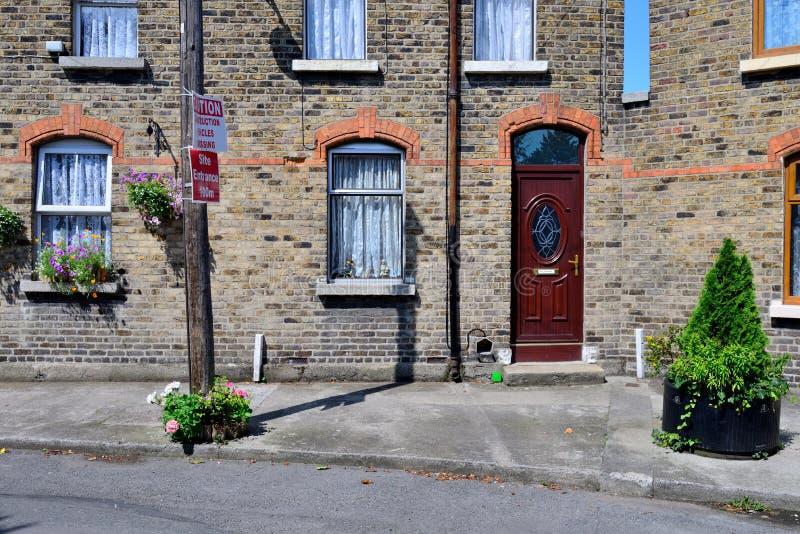 Casa vieja en Irlanda imagen de archivo