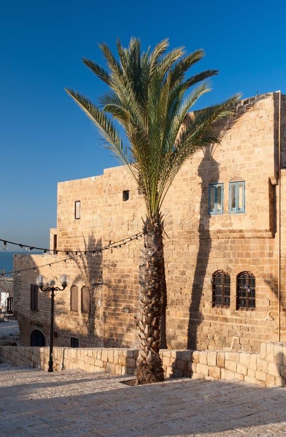 Casa vieja en Jaffa imágenes de archivo libres de regalías