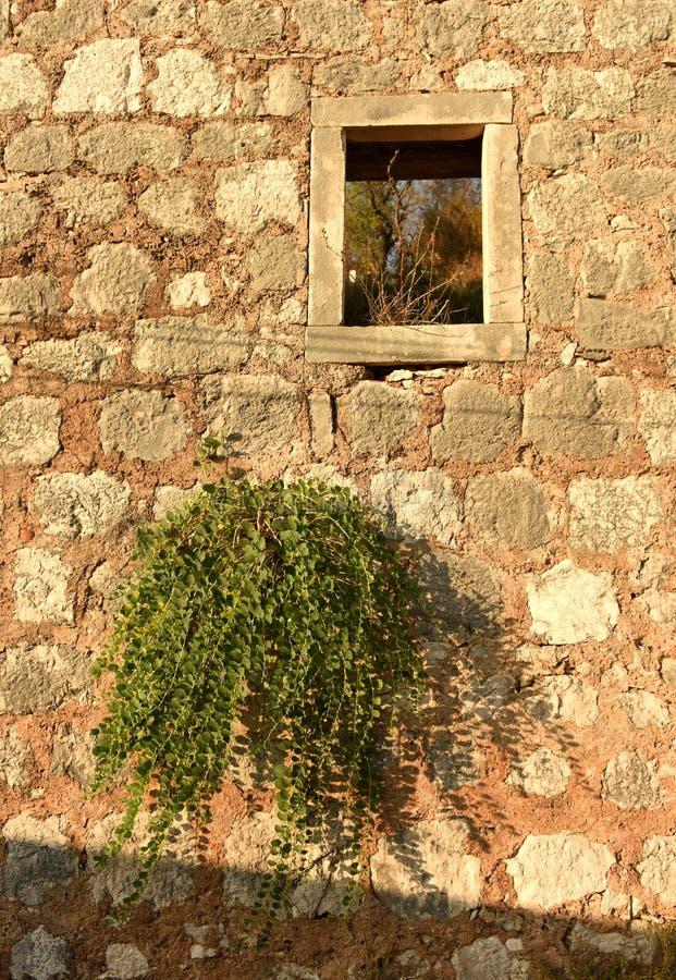 Casa vieja en la isla mediterránea fotos de archivo libres de regalías