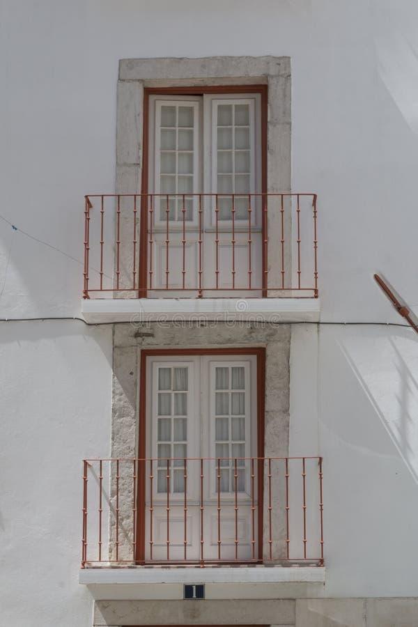 Casa vieja en Lisboa, Portugal foto de archivo libre de regalías