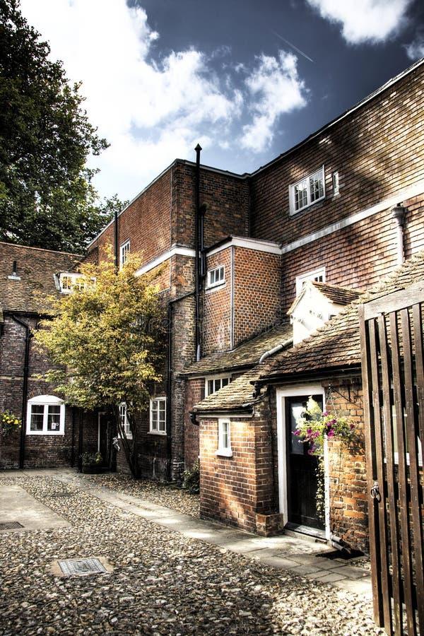 Casa vieja en Salisbury fotografía de archivo