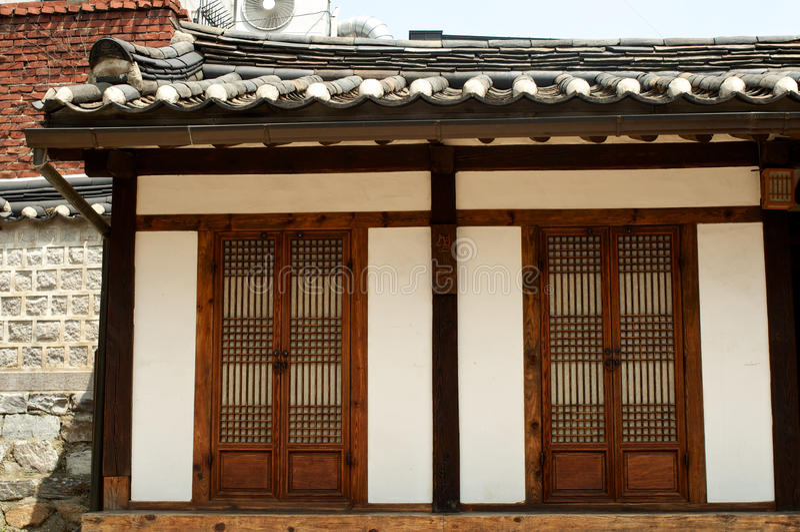 Casa vieja en Seul en Corea imágenes de archivo libres de regalías