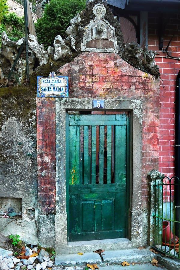 Casa vieja, Sintra, Portugal foto de archivo libre de regalías