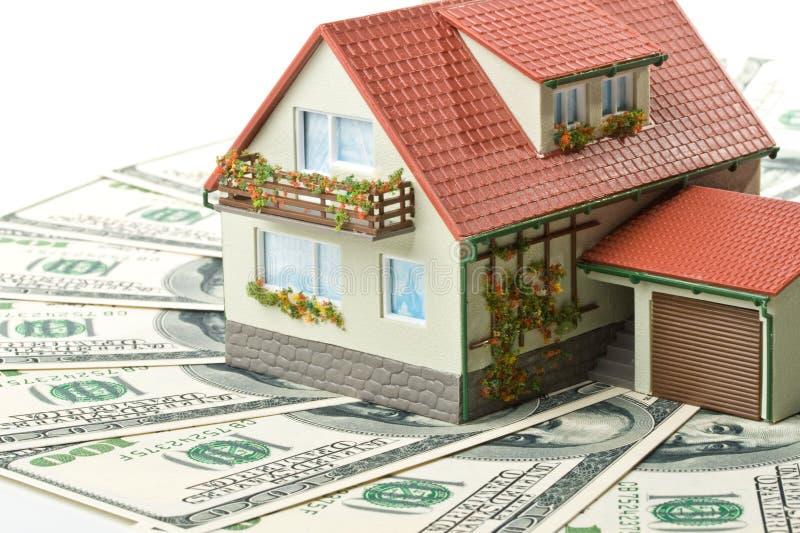 Download Casa y dinero miniatura. foto de archivo. Imagen de plano - 7283252