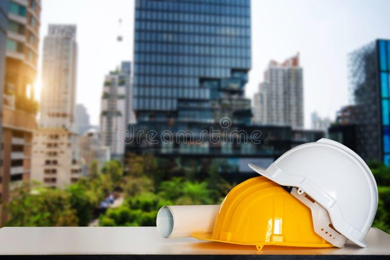 Casa y edificio de la construcci?n imagen de archivo