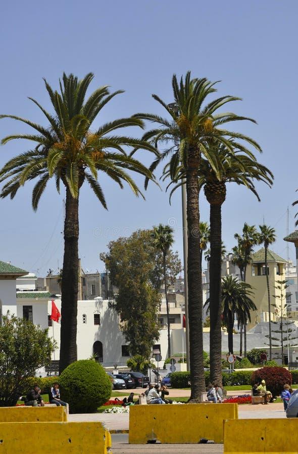 Casablanca, 20,2012 April stock afbeelding