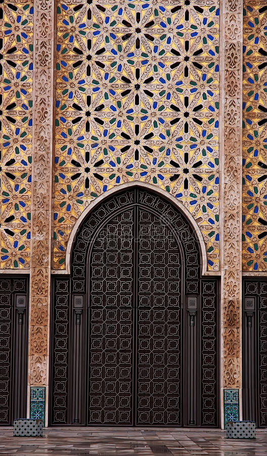 Download Casablanca stock image. Image of mosque, architecture - 27536179