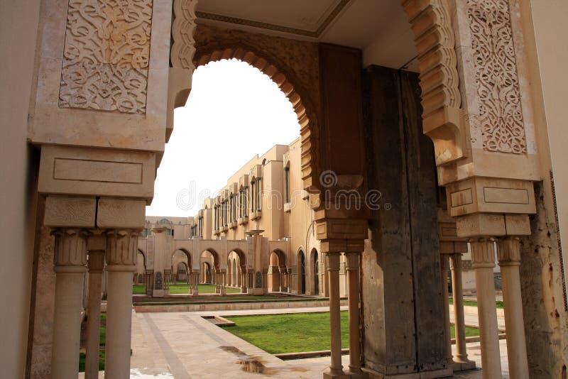 casablanca Hassan ii meczetu zdjęcie royalty free