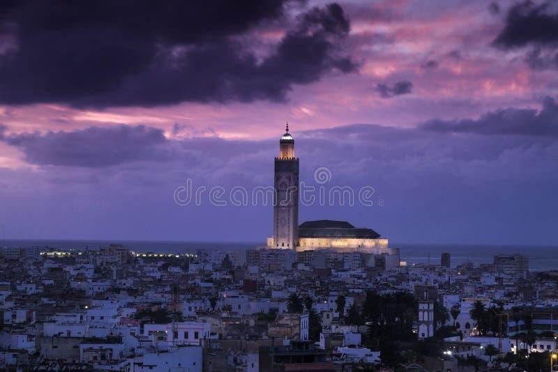 Casablanca. Hassan II Mosque - Casablanca, Morroco