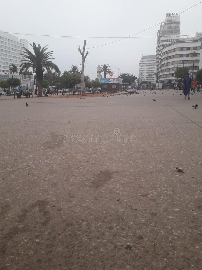 Casablanca i Marocko royaltyfri foto