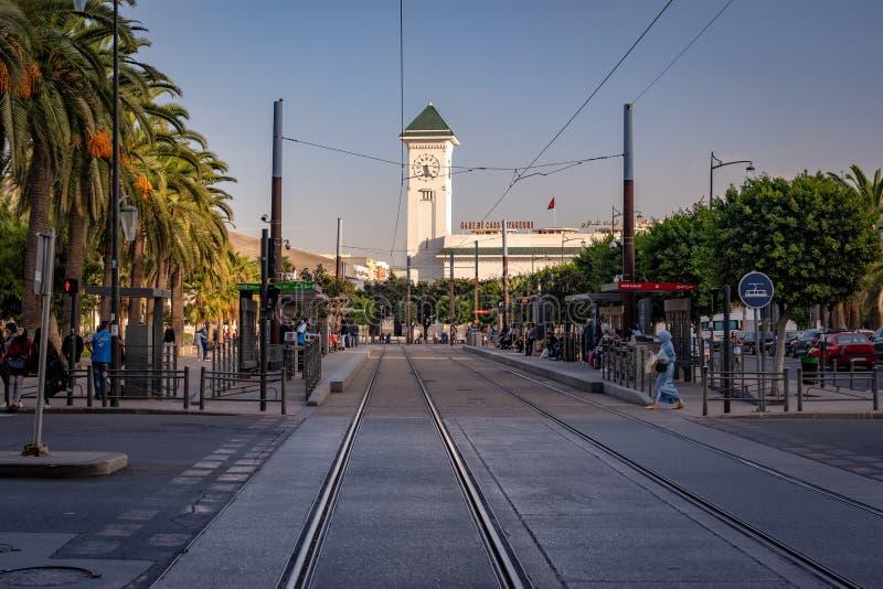 Casablanca, Marocco - Casa Voyagers fotografie stock