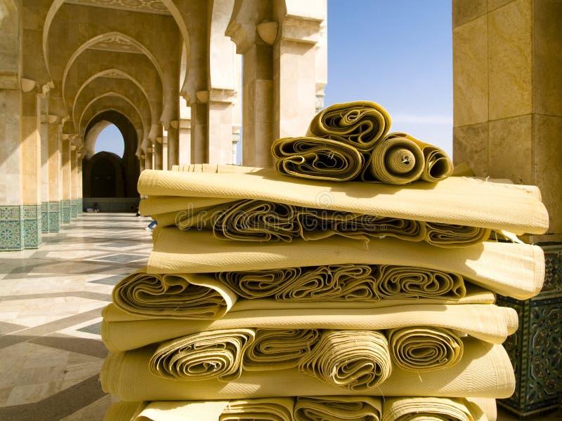 casablanca moské royaltyfria bilder