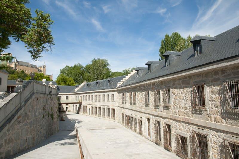 Casade la Moneda - Segovia - la Spagna reali fotografie stock