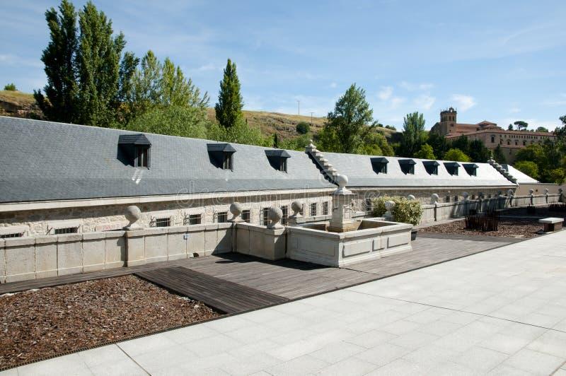 Casade la Moneda - Segovia - la Spagna reali immagine stock libera da diritti