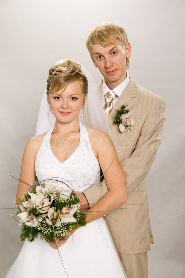 Casado. foto de archivo