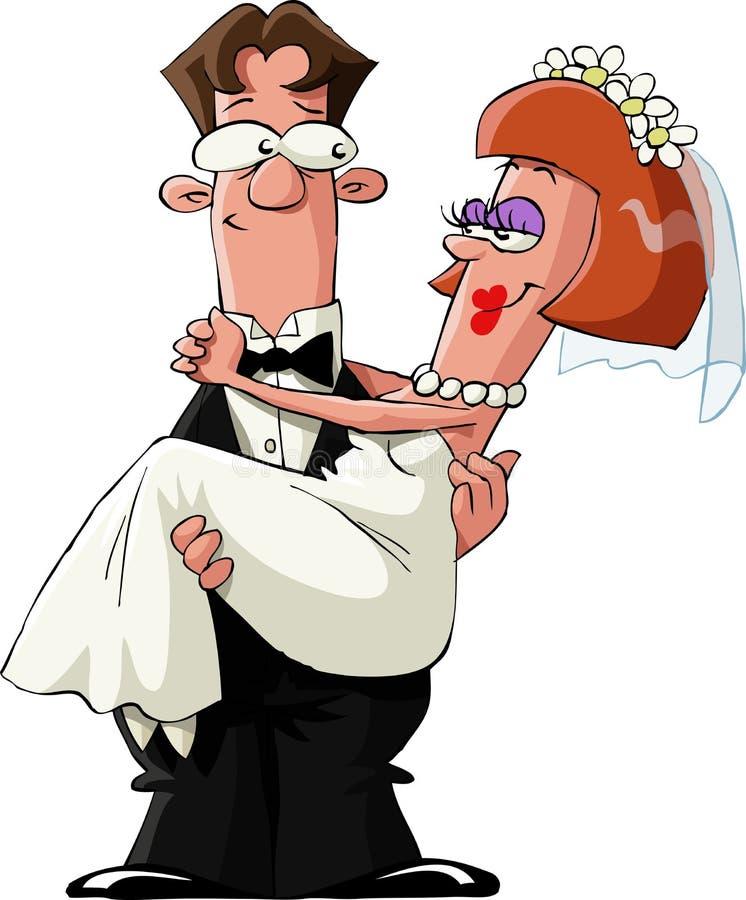 Casado stock de ilustración
