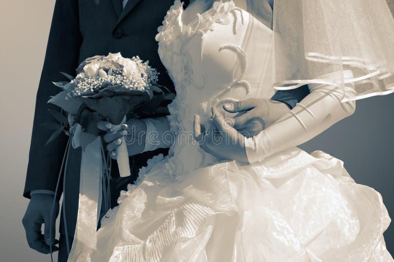 Casado bem foto de stock royalty free