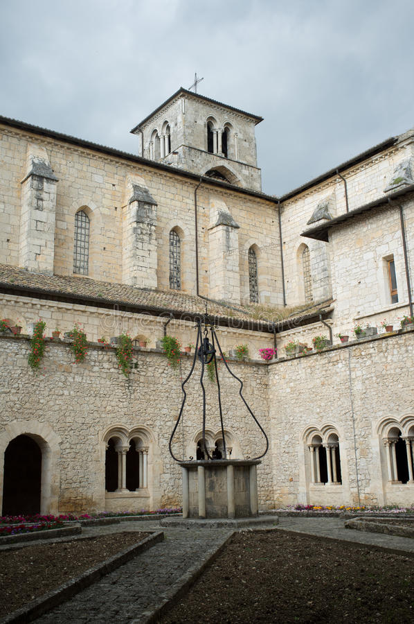 Download Casamari Abbey, Italy stock image. Image of building - 31004221