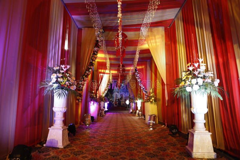 Casamento bonito Enterence da herança de Nalagarh fotos de stock royalty free