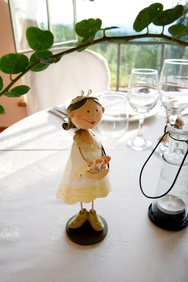 Casamento da boneca imagem de stock