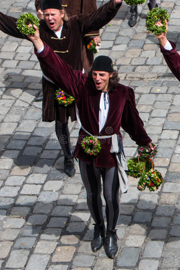 Casamento de Landshut fotografia de stock