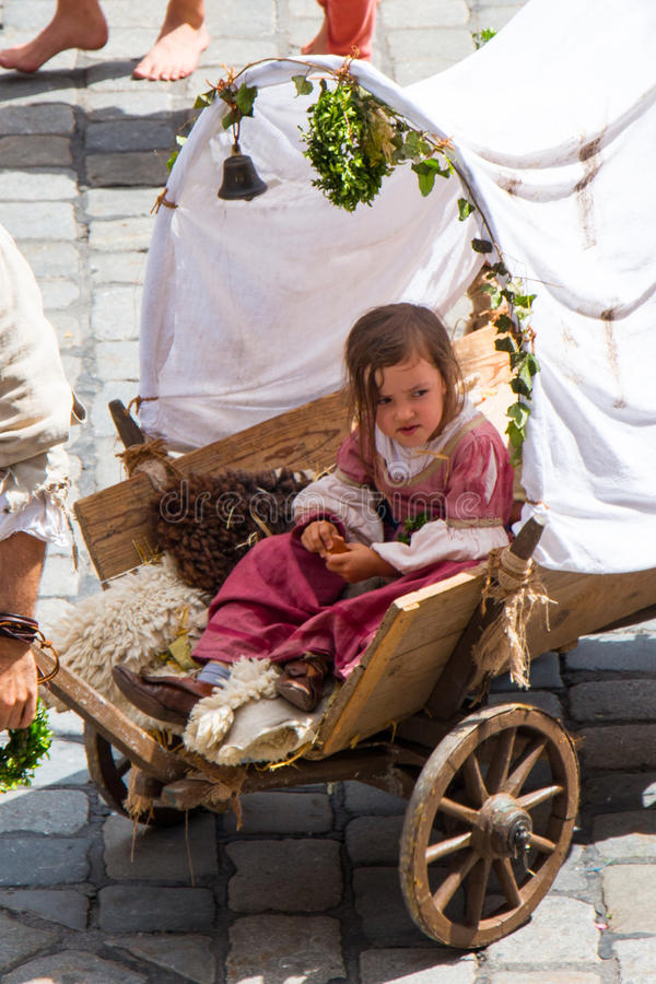 Casamento de Landshut fotos de stock