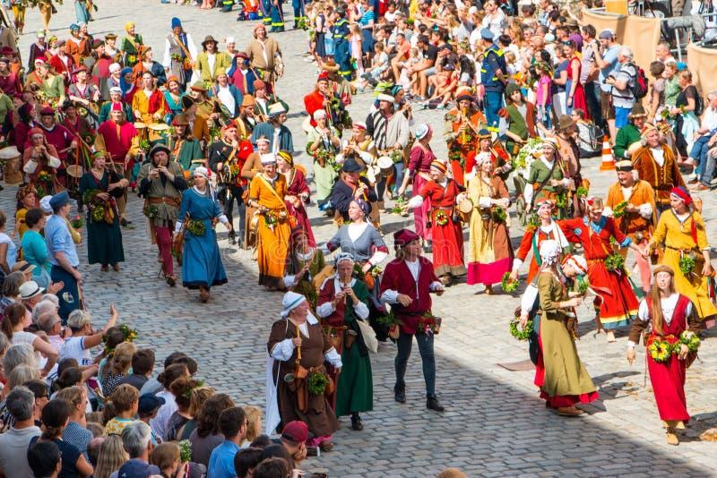 Casamento de Landshut fotografia de stock royalty free