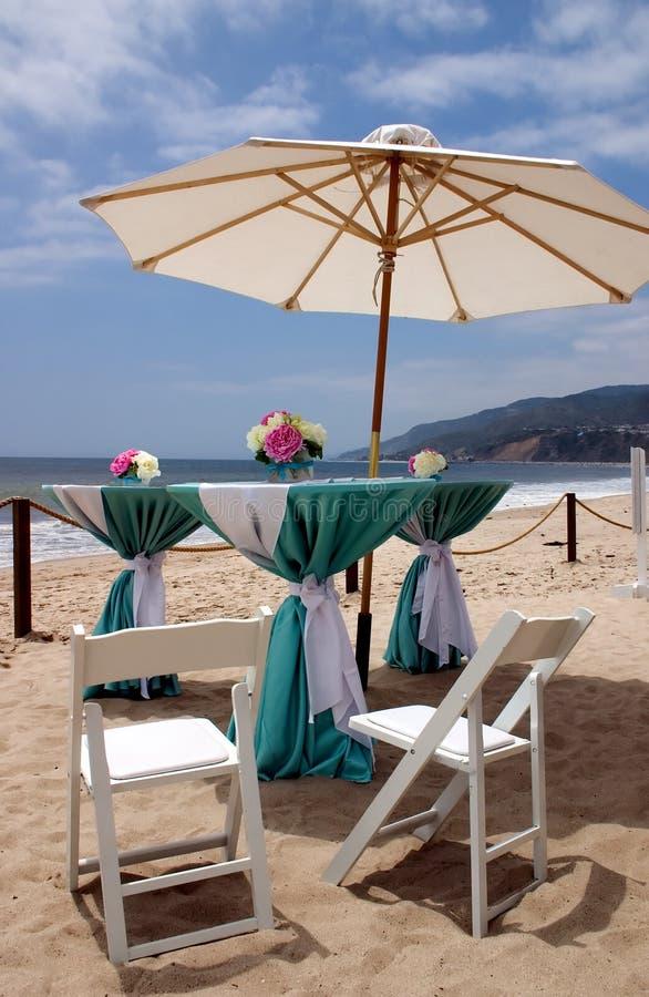 Casamento de Malibu imagens de stock