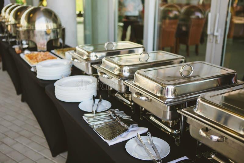 Casamento do alimento da restauração imagem de stock royalty free