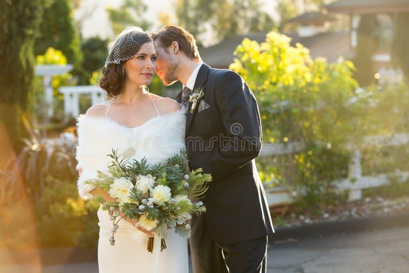 Casamento do inverno imagem de stock royalty free