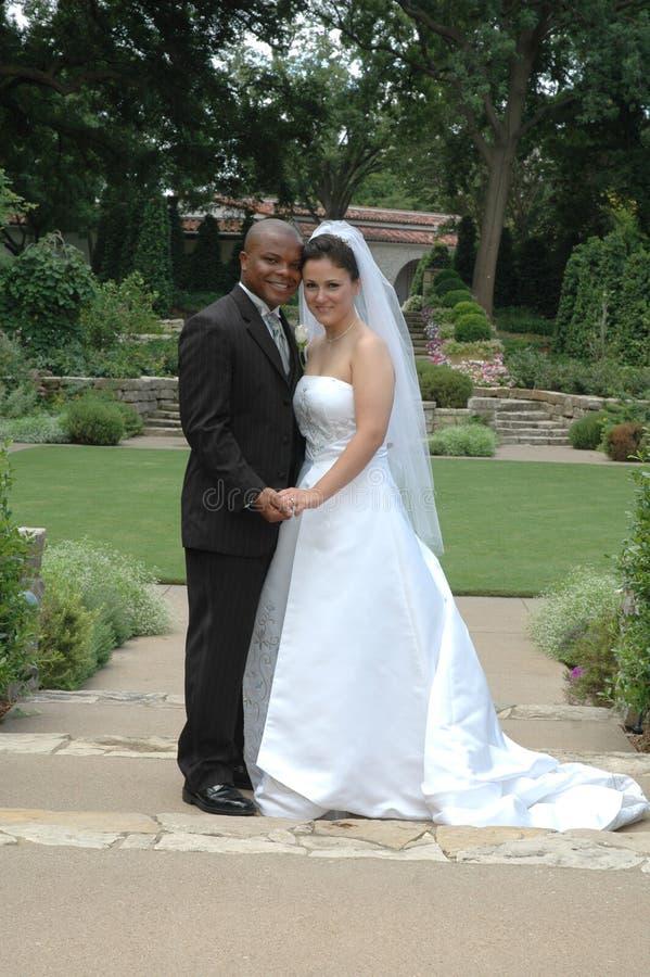 Casamento do jardim fotos de stock