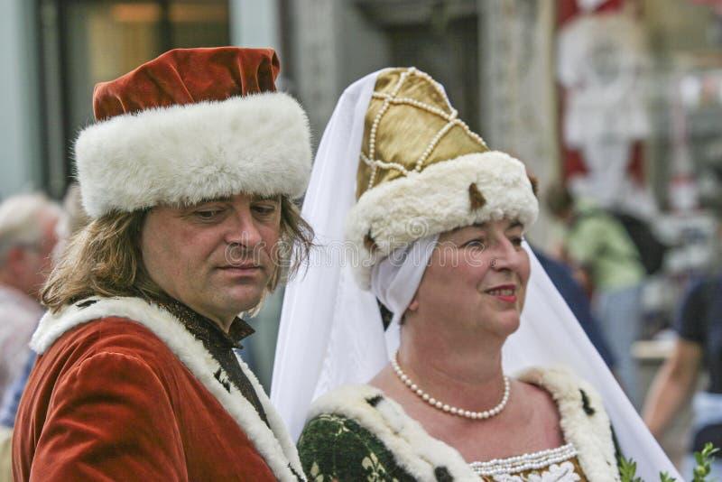 Casamento do ` s do príncipe de Landshut imagens de stock