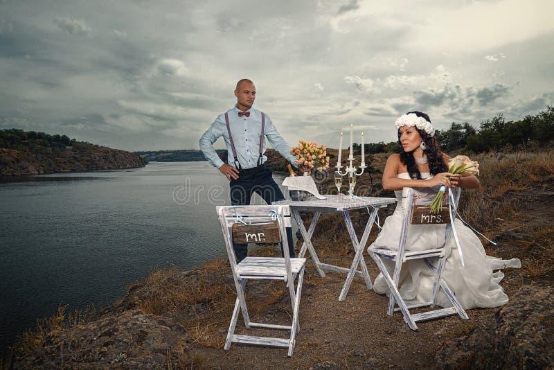 Casamento do vintage fotos de stock