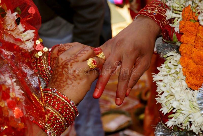 Casamento hindu Ritua foto de stock royalty free