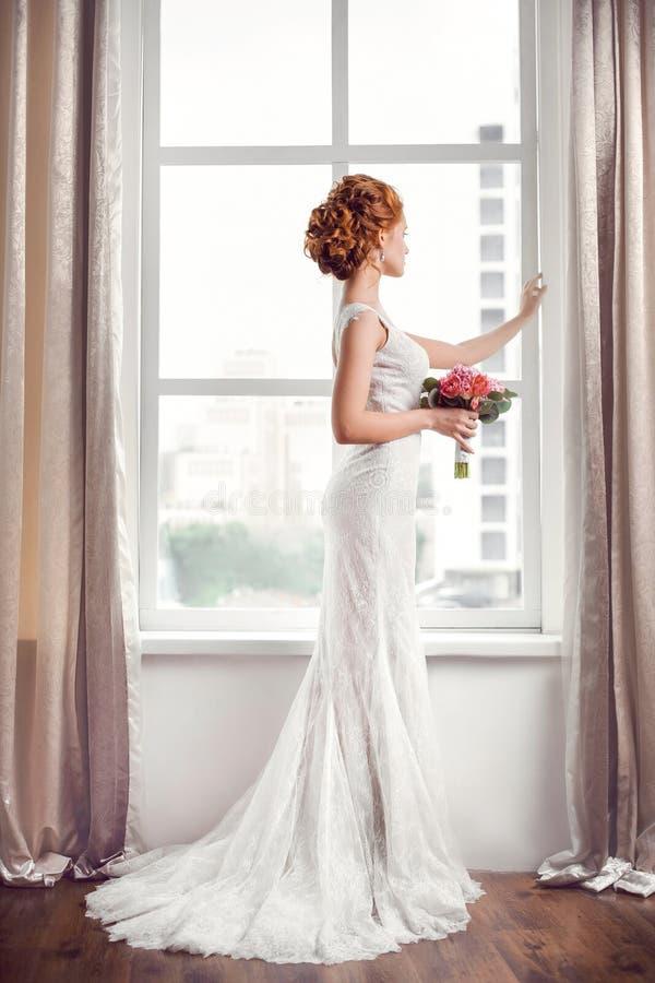 casamento Noiva bonita imagens de stock royalty free